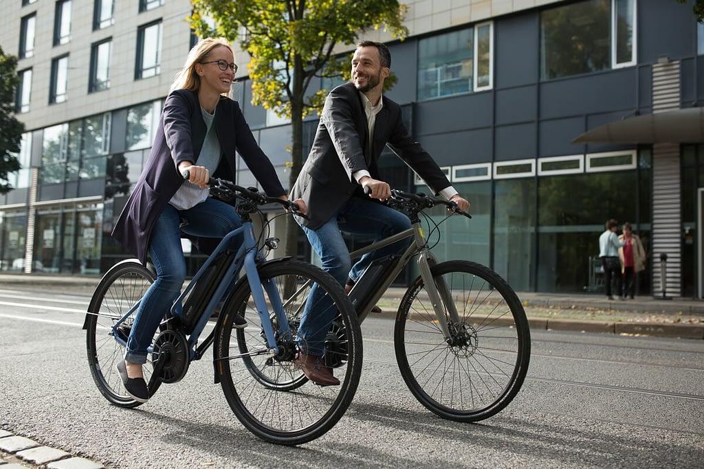 Binova flow bicycles with contactless torque sensor